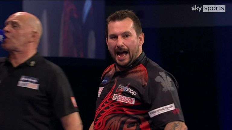 The Welshman completed victory with this classy 112 checkout
