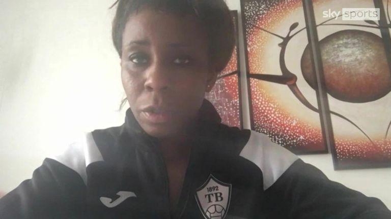 Helen Nkwocha: First wife coach of    a European top flight men's team discusses