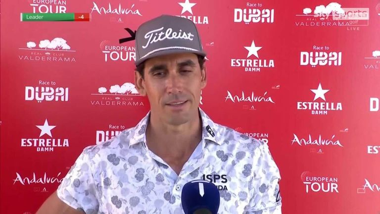 Open de Espana champion Rafa Cabrera Bello reflects on following up last week's victory with an impressive opening-round 68 in tough conditions at the Andalucia Masters.