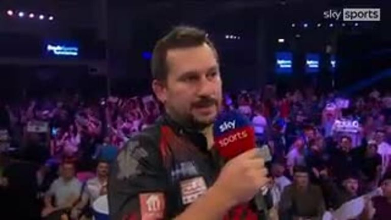 Clayton was delighted after advancing to the World Grand Prix final at Danny Noppert's expense.