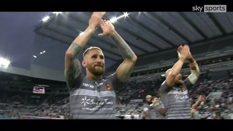 Sam Tomkins of the Catalans Dragons has been named as 2021's Steve Prescott Man of Steel, after a superb Super League campaign.
