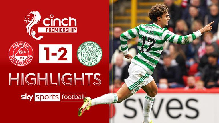 Aberdeen 1-2 Celtic