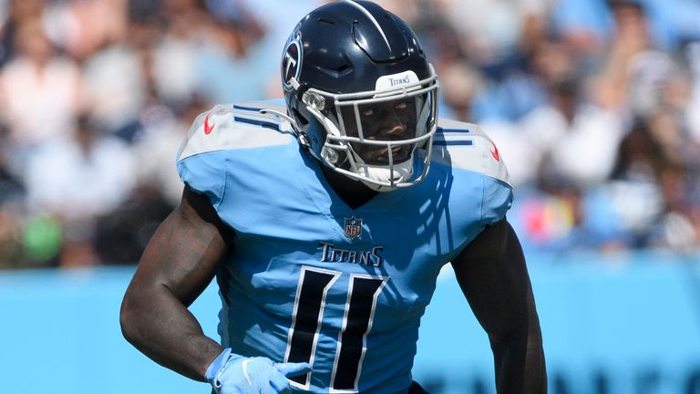 AJ Brown will miss the Titans' trip to New York