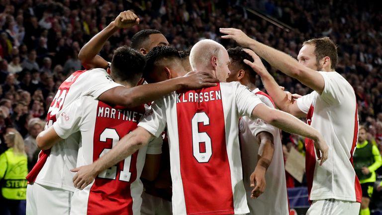 Ajax hammered Borussia Dortmund 4-0