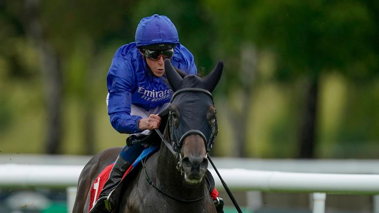 Al Suhail winning the Sir Henry Cecil Stakes at Newmarket in 2020