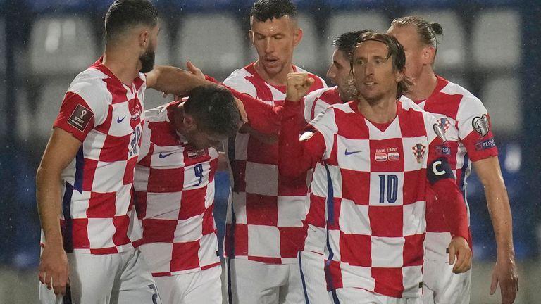 Chorvatsko Andrej Kramaric slaví svůj gól