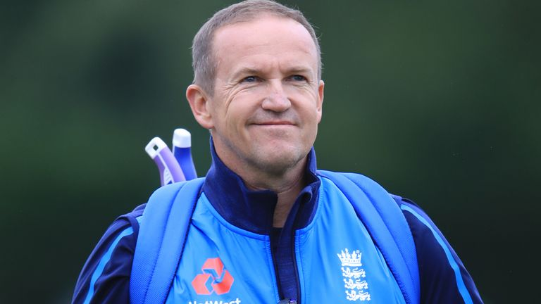 Andy Flower remained in the England coaching setup until 2019
