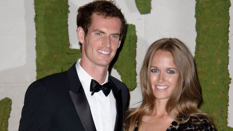 Murray and Kim Sears have been married since 2015
