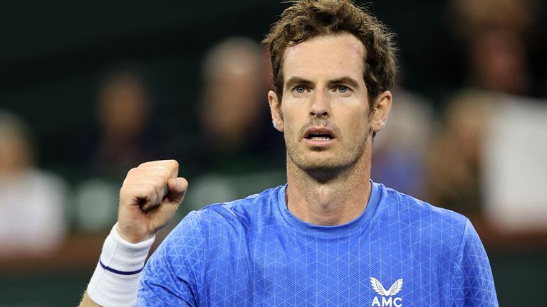 Andy Murray fended off a challenge from 18-year-old Carlos Alcaraz of Spain to make it back-to-back wins in Indian Wells
