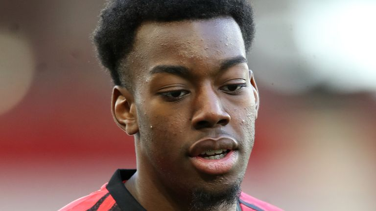 Anthony Elanga has made three first-team appearances for Manchester United