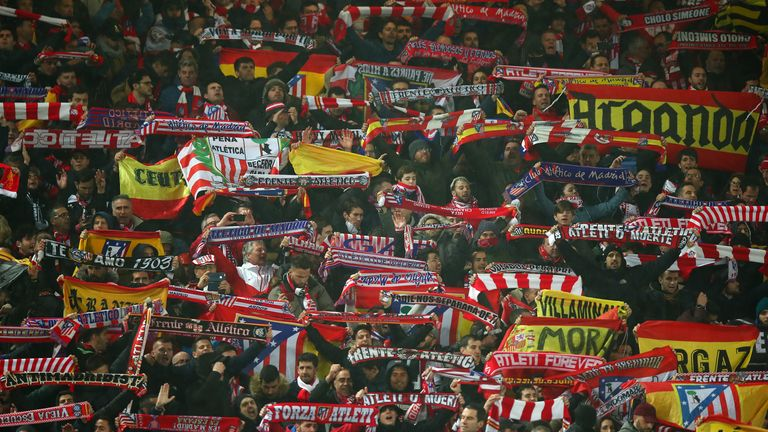 Madrid was under partial lockdown when 3,000 Atletico fans travelled to Liverpool in March 2020