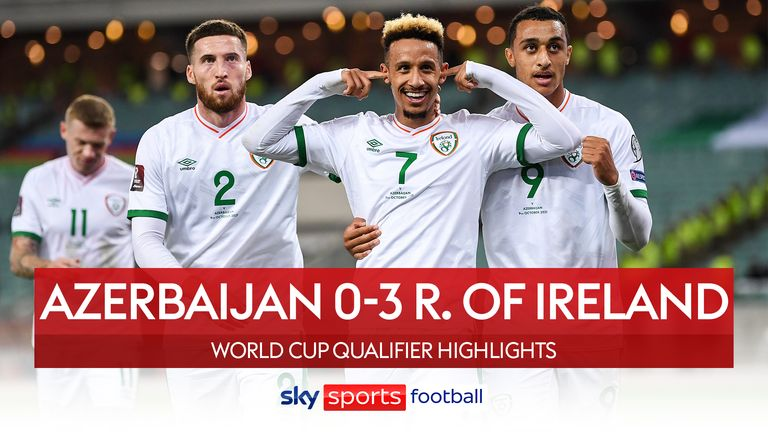 Azerbaijan v Ireland