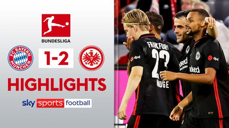 Bayern 1-2 Francoforte