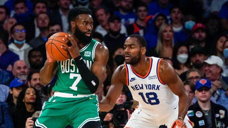 Highlights of the Boston Celtics against the in Week 1 of the NBA.