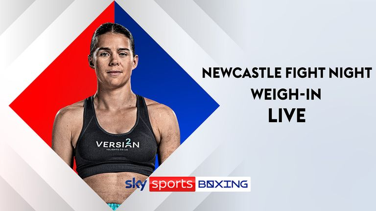 Chris Eubank Jr, Savannah Marshall and Hughie Fury weigh-in ahead of Sky Sports Boxing and BOXXER show    Boxing News