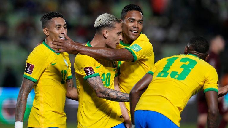 Brazil beat Venezuela in the World Cup Qualifiers