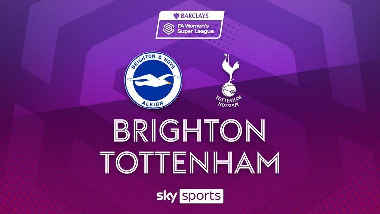 WSL: Brighton 2-1 Tottenham