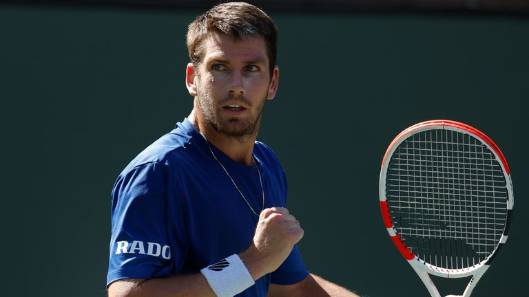 Cameron Norrie defeated Tommy Paul to set up a quarter-final meeting with Diego Schwartzman