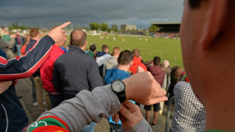 The 2013 qualification between Carlow and Laois took place on a Friday evening