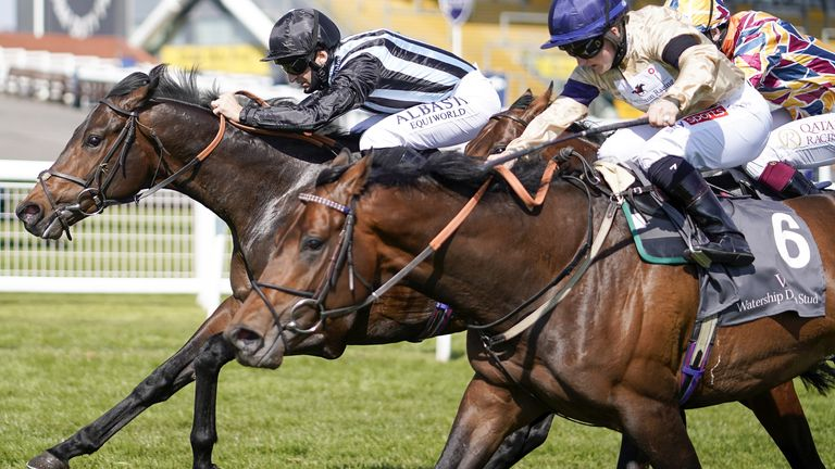 Chindit comes out on top in the Greenham Stakes at Newbury