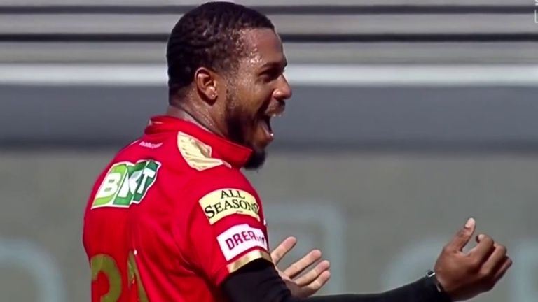Chris Jordan bagged two early wickets for Punjab Kings as Chennai slipped to 44-2