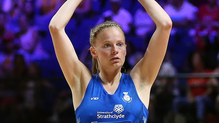 Claire Maxwell will lead the Scottish Thistles against South Africa