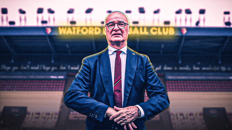 Claudio Ranieri has been appointed as Watford's new manager