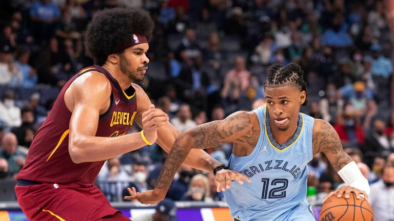 Highlights of the Cleveland Cavaliers against the Memphis Grizzlies in Week 1 of the NBA.