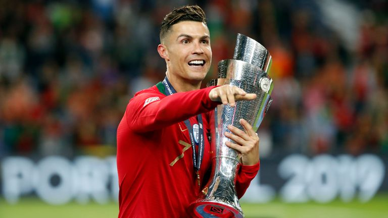 France or Spain will become the second Nations League trophy-holders, after Cristiano Ronaldo's Portugal won the inaugural competition in 2019