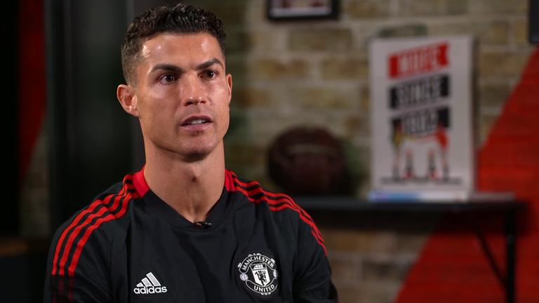 Cristiano Ronaldo speaks exclusively to Sky Sports