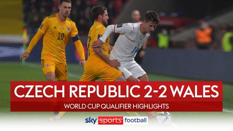Čehija 2-2 Velsa