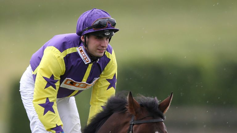Jack Duern returned to the saddle in July