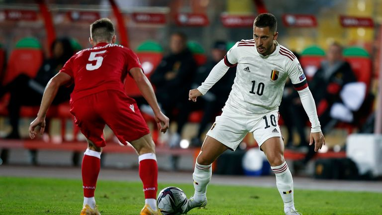 Hazard to showcase his talent in the Nations League