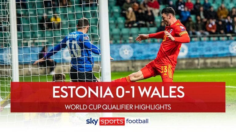 Estonsko 0-1 Wales