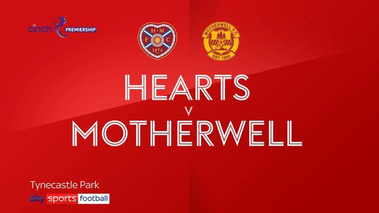 Hearts v Motherwell