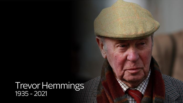 Trevor Hemmings: Died on Monday evening, aged 86