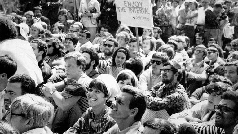 Speakers Corner in Hyde Park in 1967