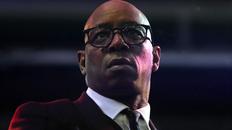 Speaking about the fight against racial discrimination, Ian Wright insists the black community