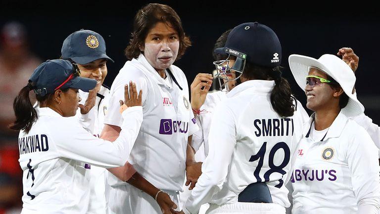 India lead Australia by 234 runs heading into the final day in Carrara, with the hosts still 85 runs shy of avoiding the follow-on