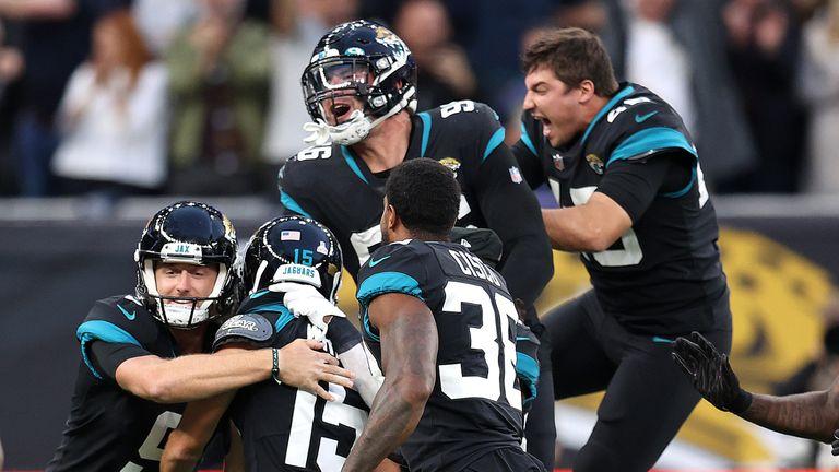 Miami Dolphins 20-23 Jacksonville Jaguars: Matthew Wright kicks game-winning field goal to earn Jaguars first win of season |  NFL News