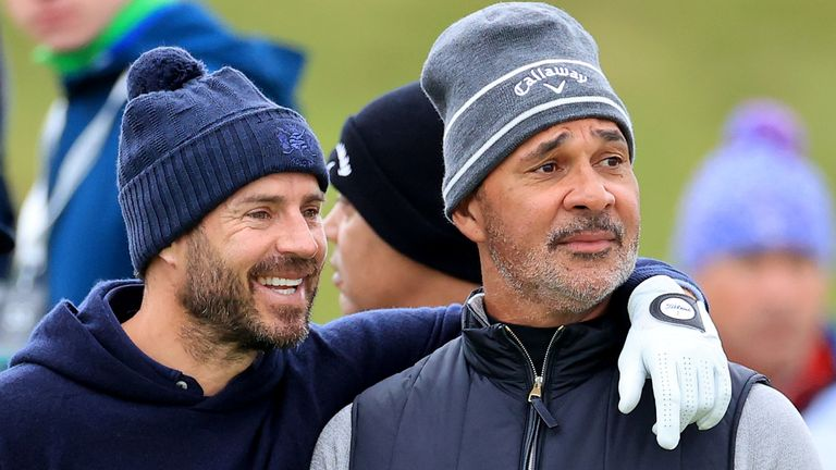 Jamie Redknapp and Ruud Gullit are both in action this week in Scotland