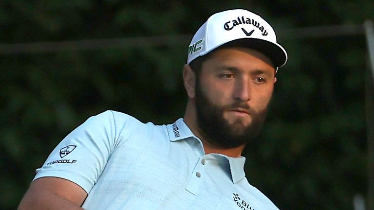 Jon Rahm can move top of the Race to Dubai standings with victory at Valderrama this week