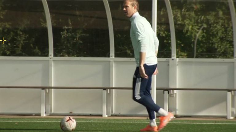 Kevin McDonald is back training again