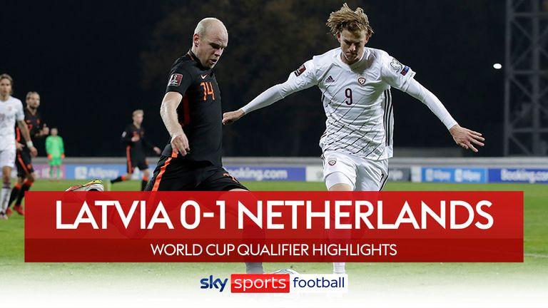 Latvia v Netherlands