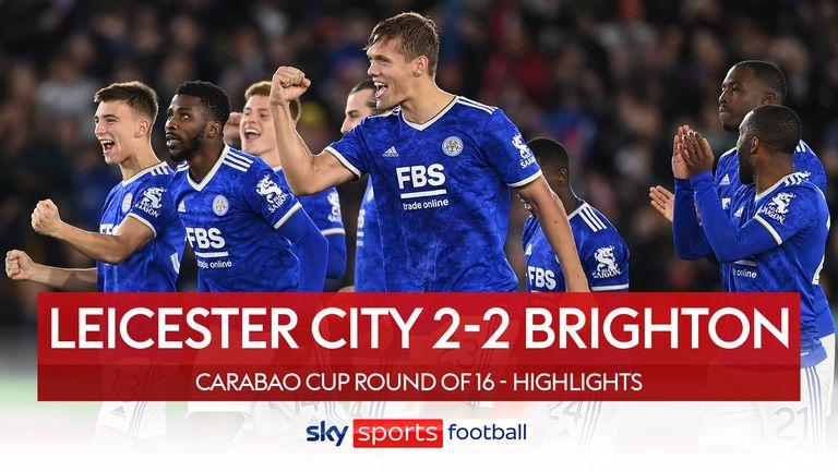 Leicester 2-2 Brighton (4-2 pens)