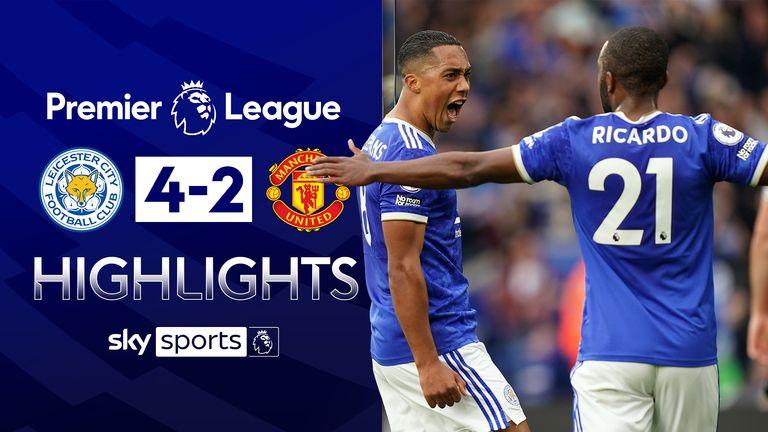 Leicester v Man Utd highlights