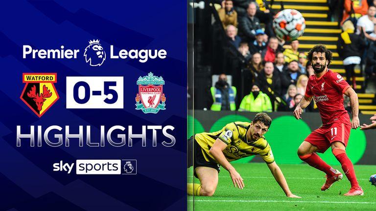 Watford 0-5 Liverpool
