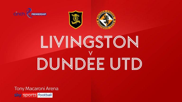 Livingston v Dundee Utd