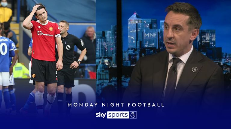 MNF: Neville on Maguire selection