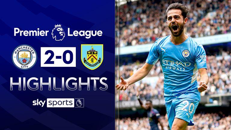 Man City v Burnley highlights